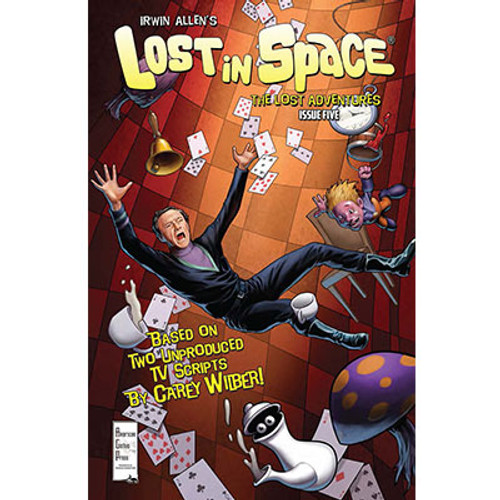Irwin Allen's Lost In Space: The Lost Adventures #5 Cover A Patrick McEvoy