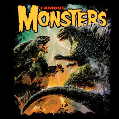 Godzilla VS Gamera T-shirt