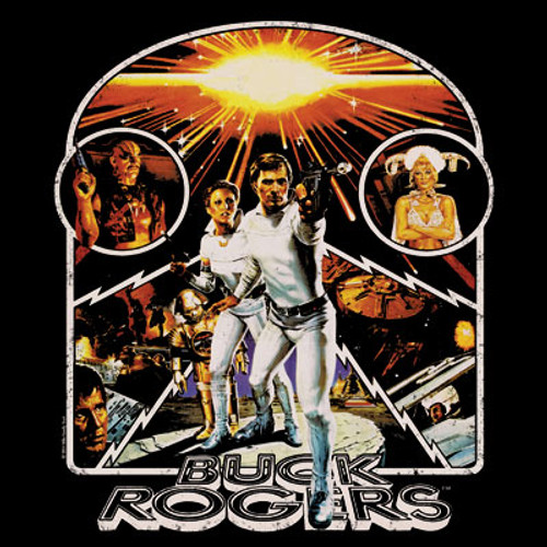 Buck Rogers Movie Poster T-Shirt