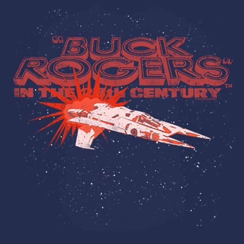 Buck Rogers Spaceship T-Shirt