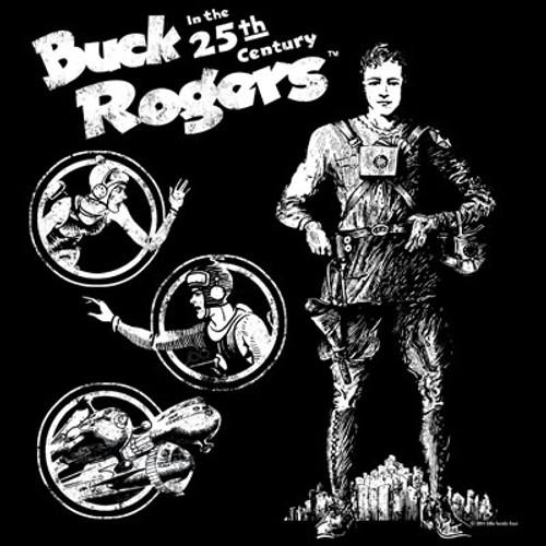 Buck Rogers Sketch Art T-Shirt