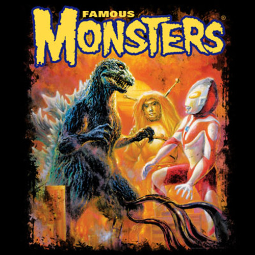 Colossal Kaiju Invasion T-shirt