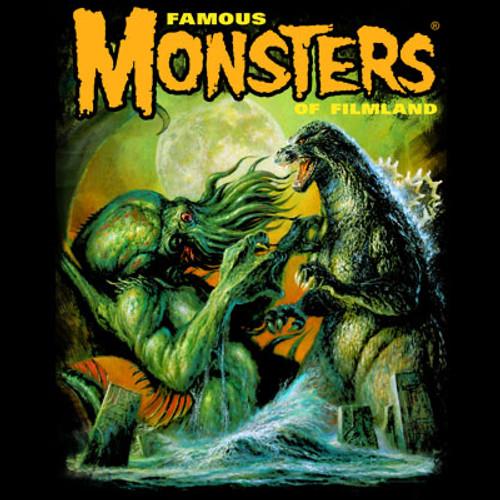 Godzilla VS Cthulhu T-shirt