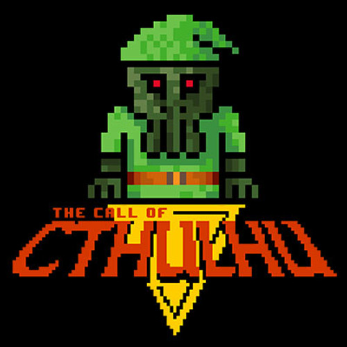 Call of Cthulhu 8-bit T-shirt