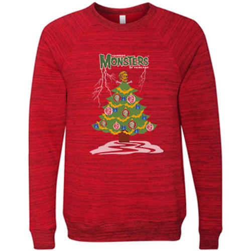 """Oh Shock Monster Tree"" Ugly Holiday Sweater"