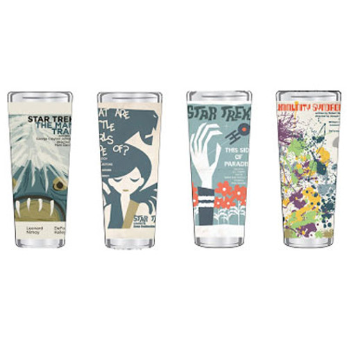 Star Trek Fine Art Shot Glasses Set 1