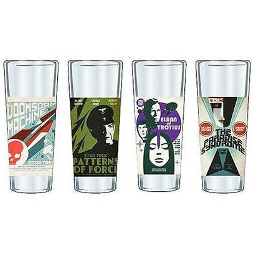 Star Trek Fine Art Shot Glasses Set 2