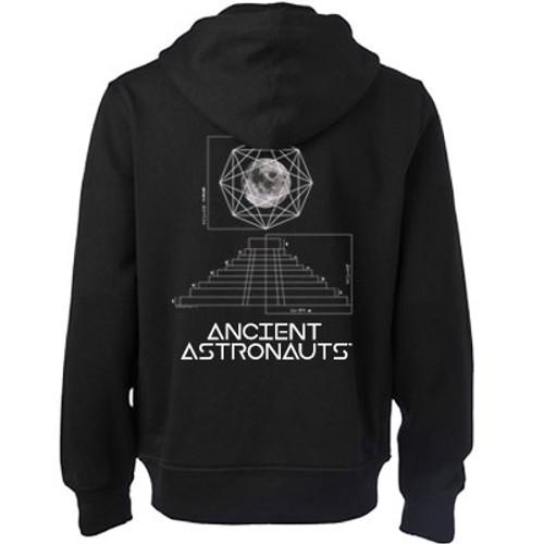 Ancient Astronauts Blueprint Zip Hoodie