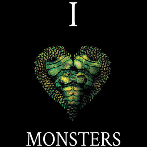 I Love Monster Creatures T-shirt