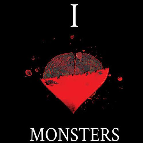 I Love Monster Brains T-shirt