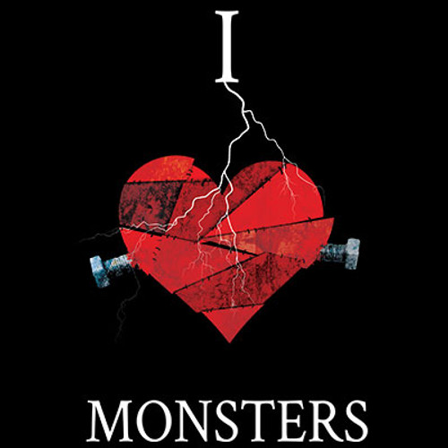 I Love Monsters T-shirt