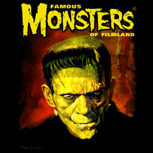 Famous Monsters Gogos Frank T-shirt