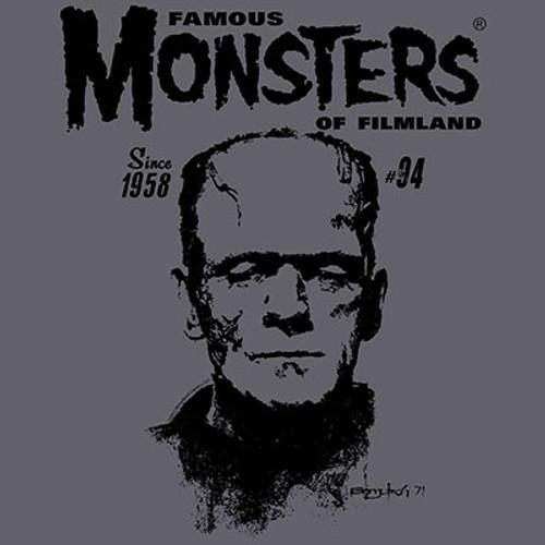 Famous Monsters Sanjulian Vintage Frank T-shirt