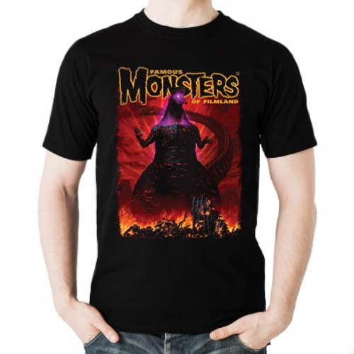 Shin Godzilla Famous Monsters Convention Exclusive T-shirt and Poster Bundle