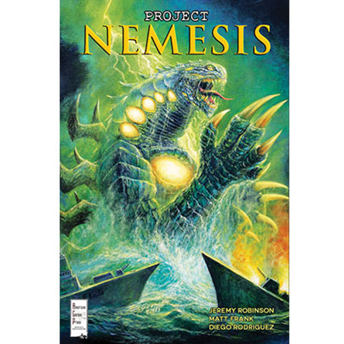 Project Nemesis #4 Incentive Cover Bob Eggleton
