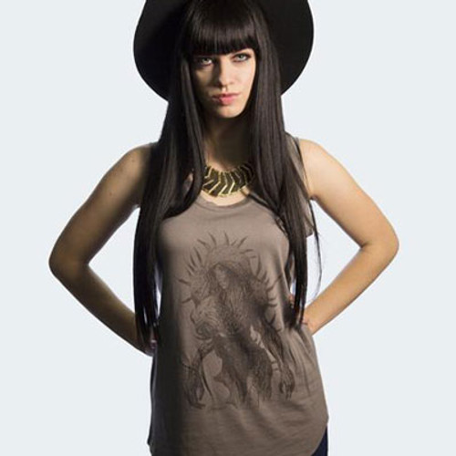 She-Creature Muscle Tee