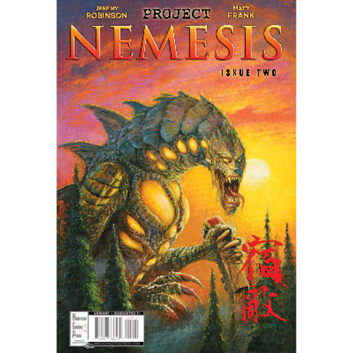 Project Nemesis #2 Cover B Bob Eggleton