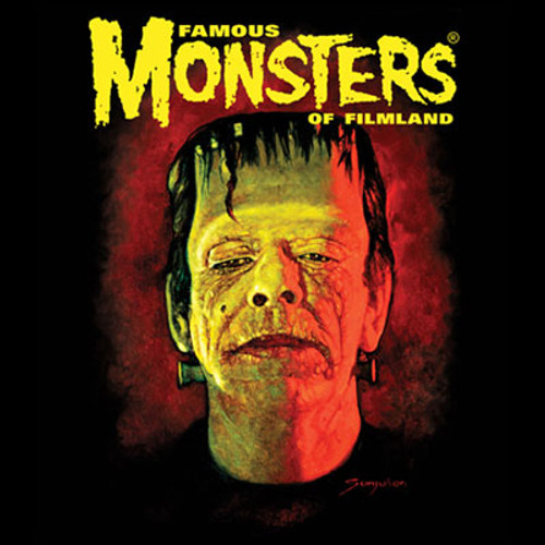 Famous Monsters Sanjulian Frank Tee