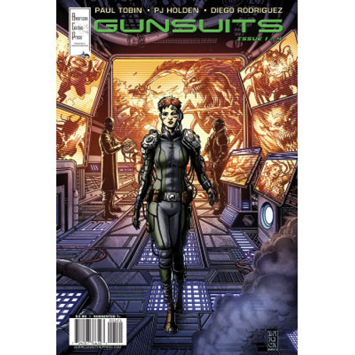 Gunsuits #1 Cover B Darick Robertson