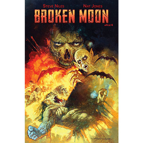 Broken Moon #4 Cover B Sanjulian Variant