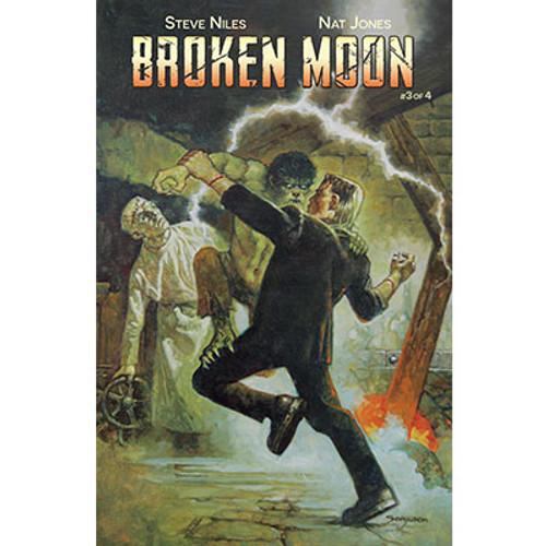 Broken Moon #3 Cover B Sanjulian Variant