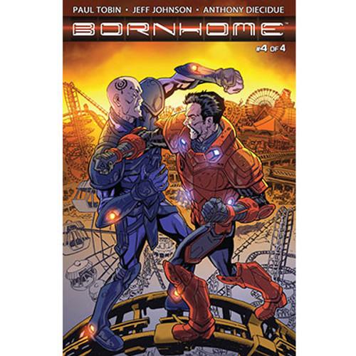 Bornhome #4 Cover A Jeff Johnson