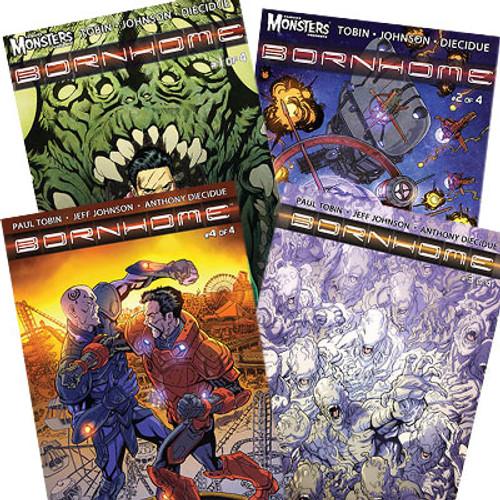Bornhome Comic Book Bundle