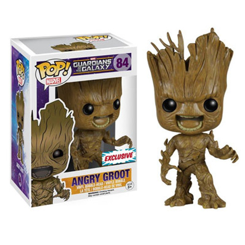 Funko POP Marvel Guardians of the Galaxy Angry Groot