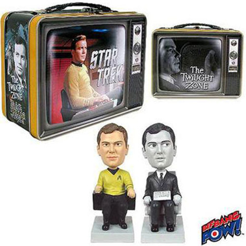Star Trek / The Twilight Zone Tin Tote & Monitor Mates