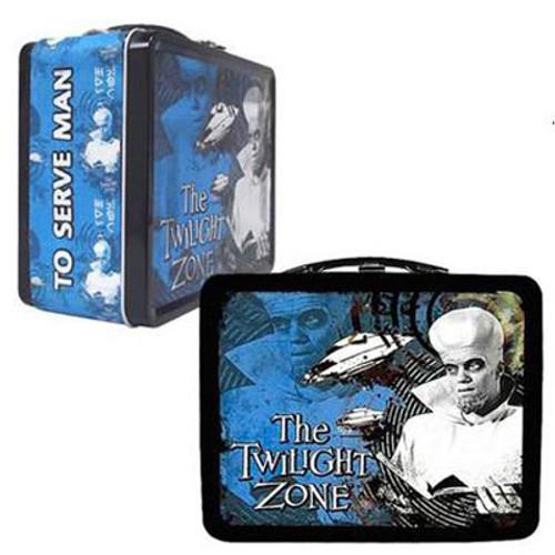 The Twilight Zone Kanamit Tin Lunch Box