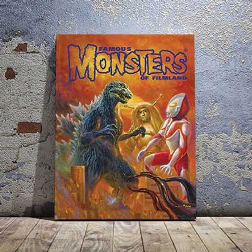 Colossal Kaiju Canvas Print