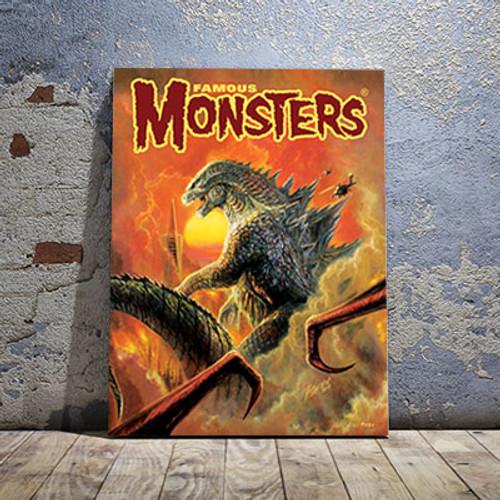 2014 Godzilla Canvas Print