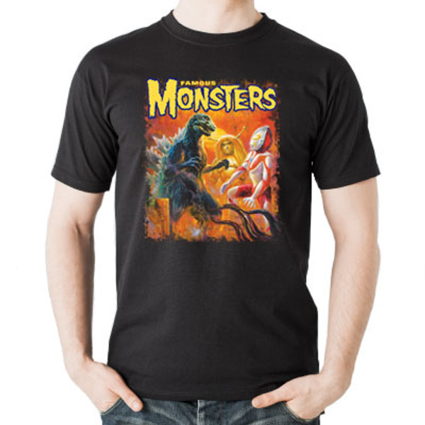 Colossal Kaiju Invasion T-shirt