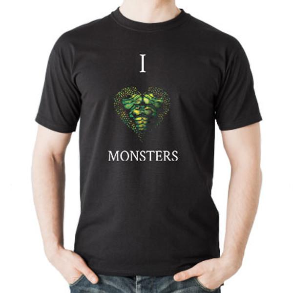 I Love Monster Creatures T-shirt