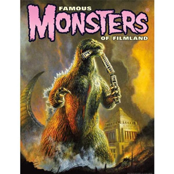 1954 Godzilla Poster