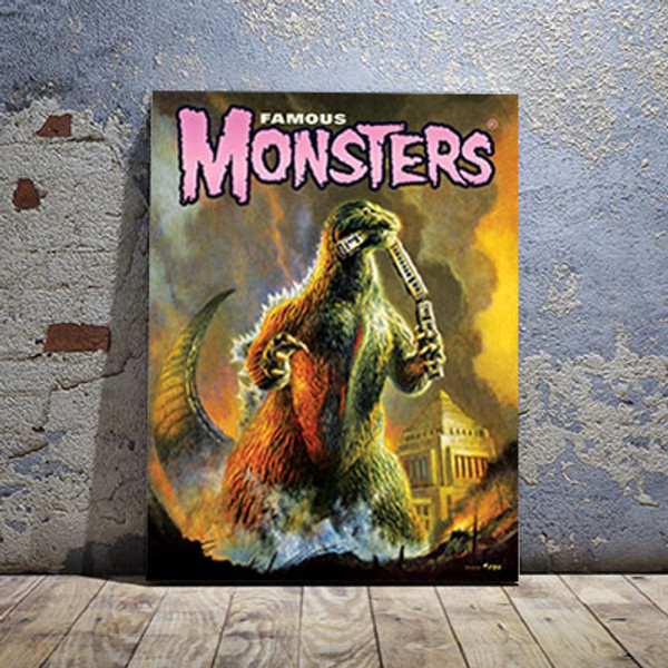1954 Godzilla Canvas Print