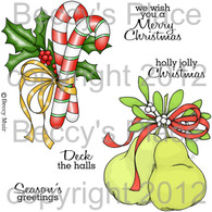 Sweet Christmas digital stamps