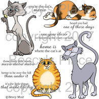 The Cat's Meow digital stamps