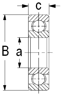 4m lang Bonrollen kernlos u.a für EC-Cash Pocket 100 Stück Kassen-Rollen 57mm