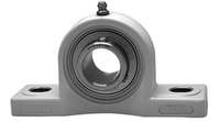 "1-7/16"" Stainless Steel Thermoplastic Pillow Block Bearing SSUCP207-23-TP"