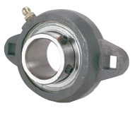"1-3/16"" Ductile Iron Two Bolt Flange Bearing SBFTD206-19G"