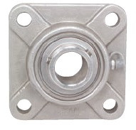 "1-7/16"" Stainless Steel Four Bolt Flange Bearing SSUCF207-23"