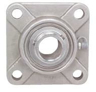 "3/4"" Stainless Steel Four Bolt Flange Bearing SSUCF204-12"