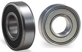 "R14-2RS R14-ZZ Radial Ball Bearing 7/8"" Bore Image"