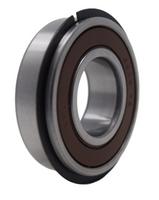 6205-2RSNR Radial Ball Bearing with Snap Ring 25X52X15