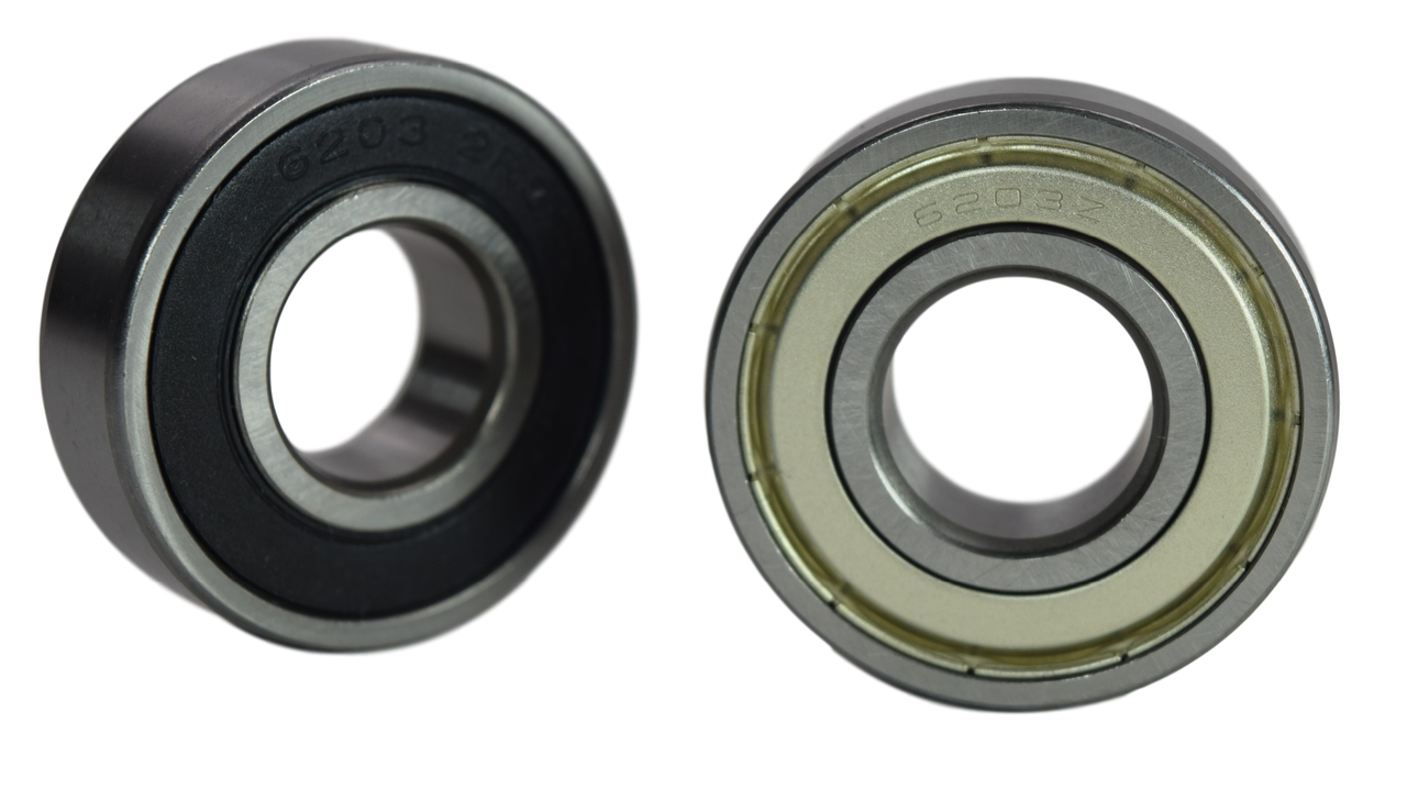 6203-2RS 6203-ZZ Radial Ball Bearing 17X40X12 Image