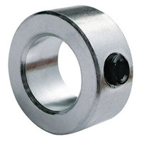 "2-3/16"" Zinc Plated Solid Shaft Collar"