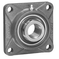 "1-7/16"" Four Bolt Flange Bearing Medium Duty UCFX07-23"