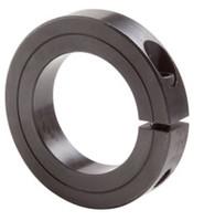 "1/2"" Black Oxide Single Split Shaft Collar"