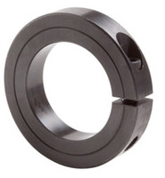 "1-1/2"" Black Oxide Single Split Shaft Collar"